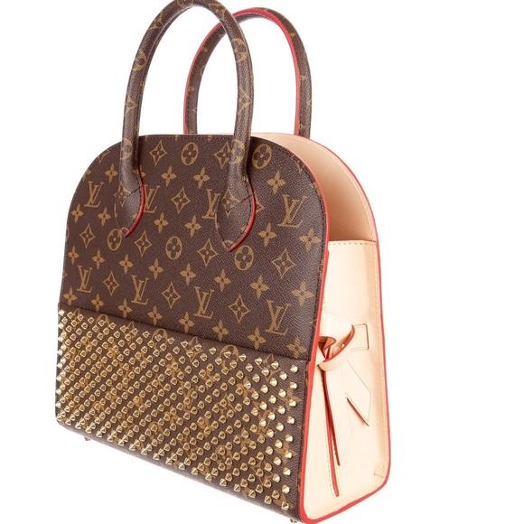 f0a9e438935 Louis Vuitton x Christian Louboutin Tote